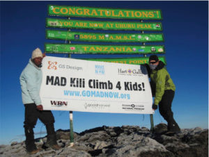 We are so looking forward to setting foot on Uruhu Peak and celebrating our milestones.