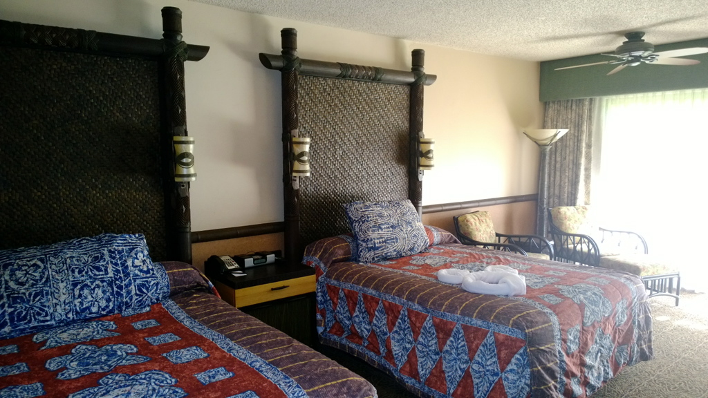 Bedroom at The Polynesian Resort - Disney World
