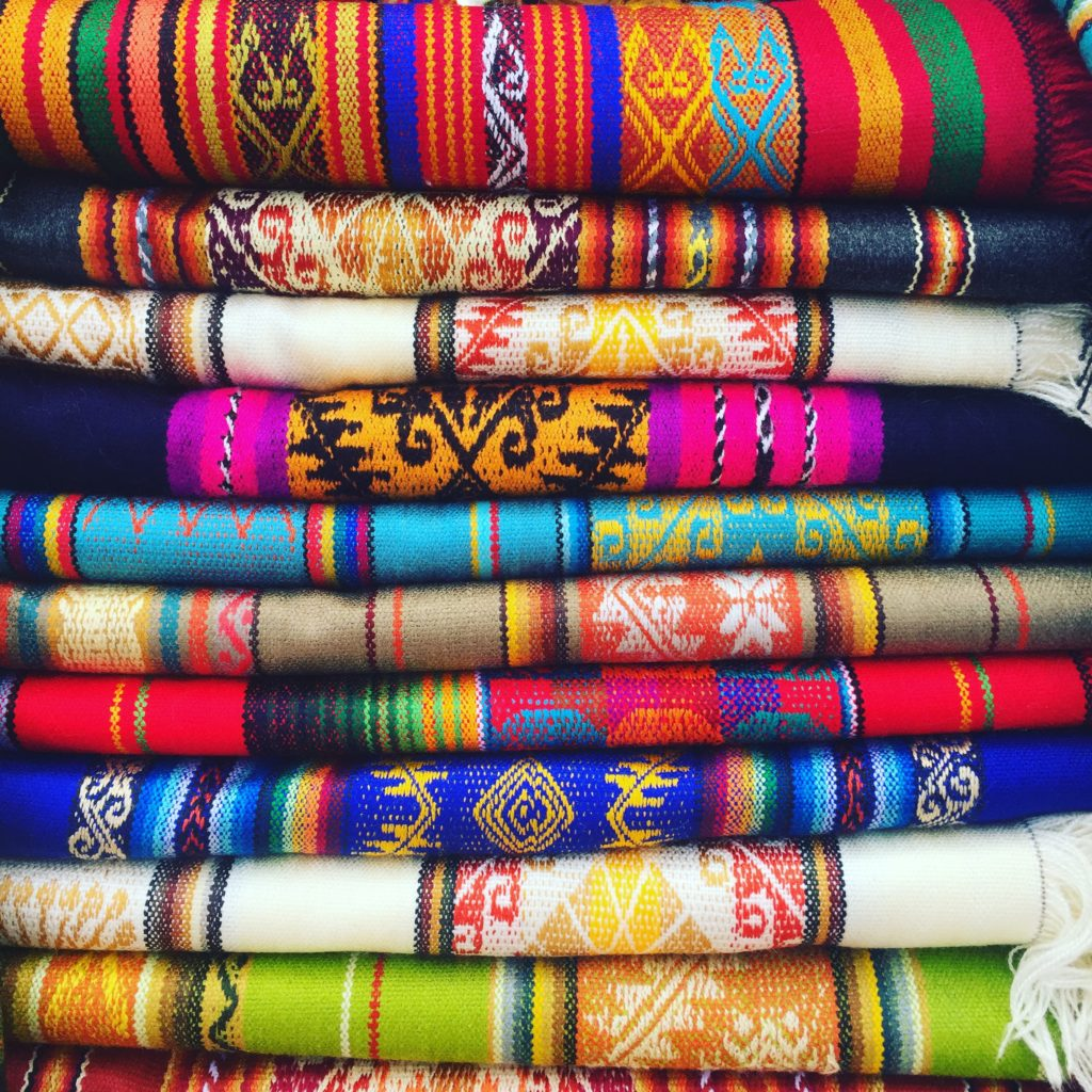Getting a chance to see these colours and touch the beautiful textiles of Otavalo market was an experience we will never forget