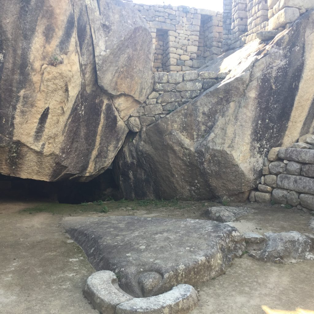 The Temple of the Condor in Machu Picchu was fascinating in their beliefs and rituals surrounding it, yet too much activity can start to cause damage.
