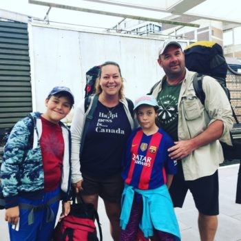 Round the world Family travel